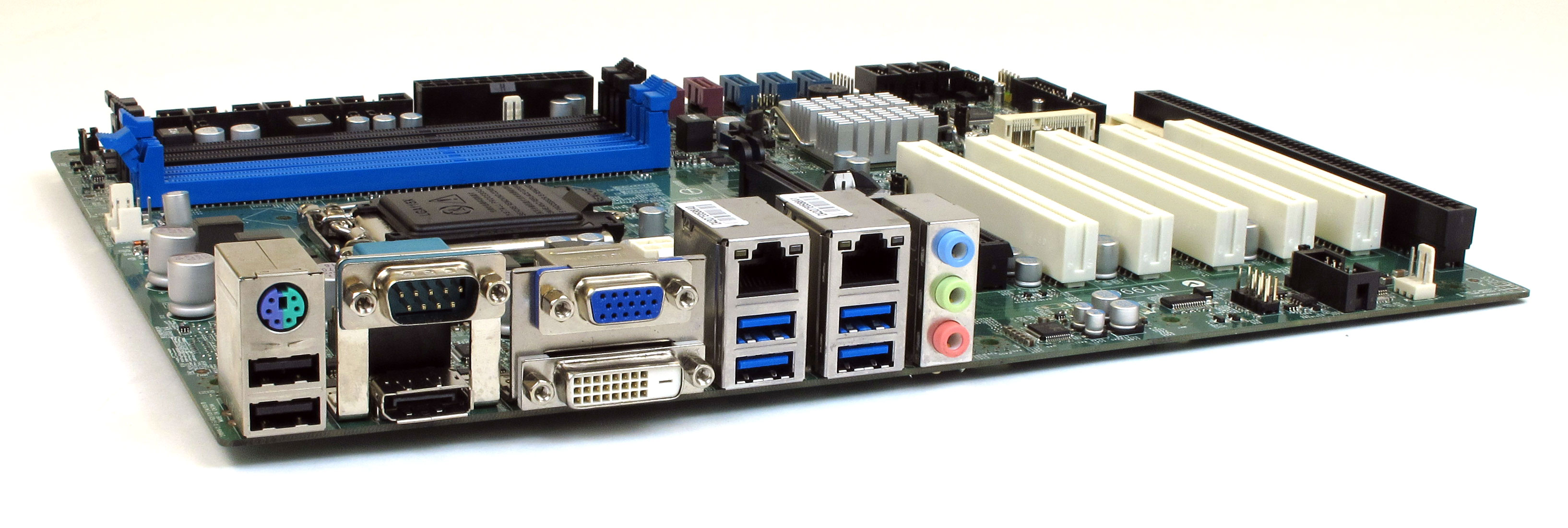MS-98A9 Industrial Motherboard Rear Panel