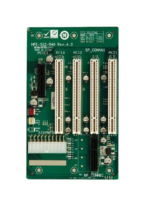 HPE-5S2 PICMG 1.0 Backplane