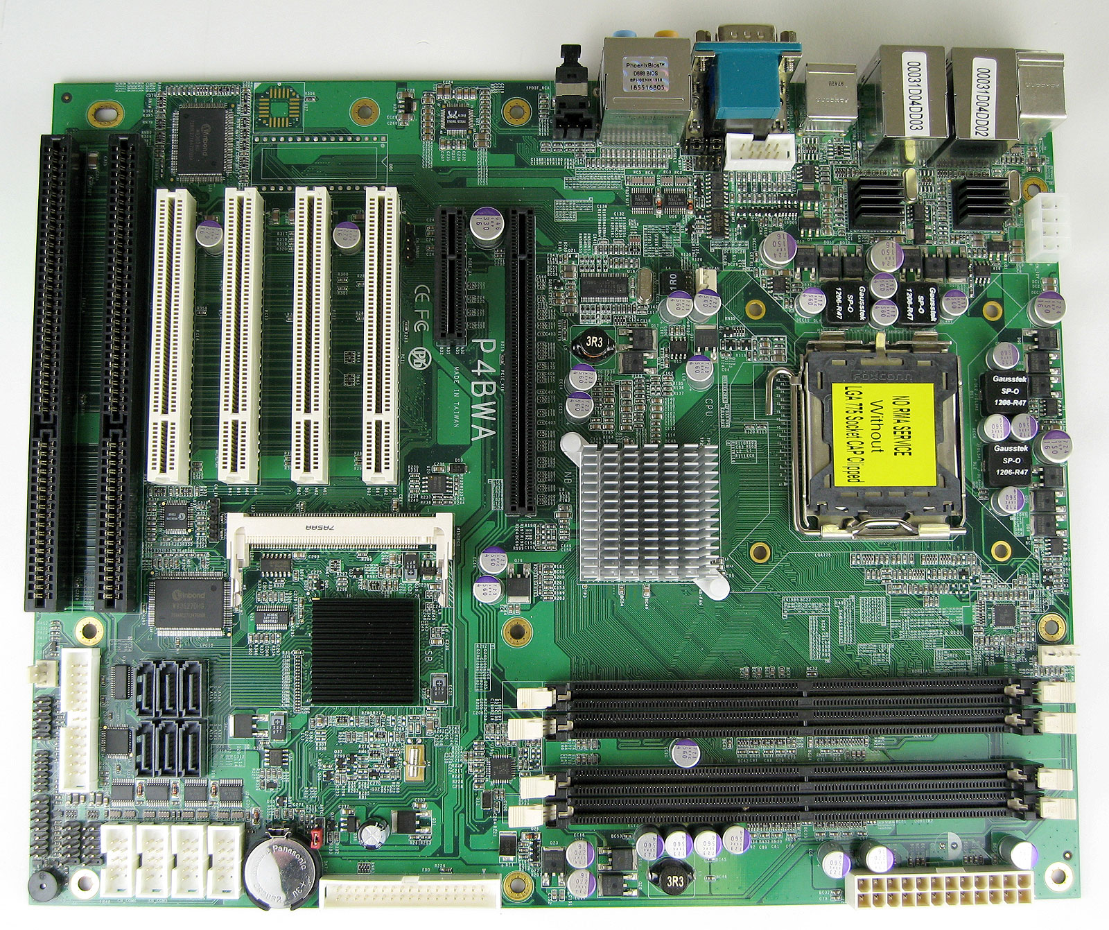 P4BWA Industrial Motherboard