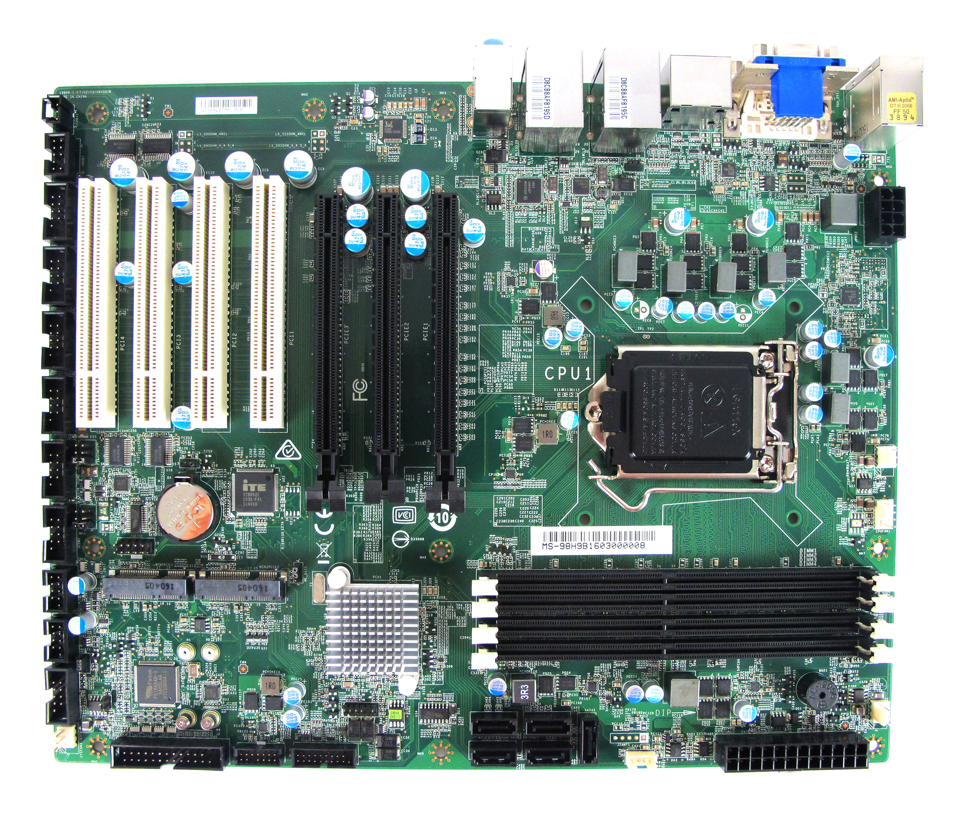 MS-98H9 Industrial Motherboard Top