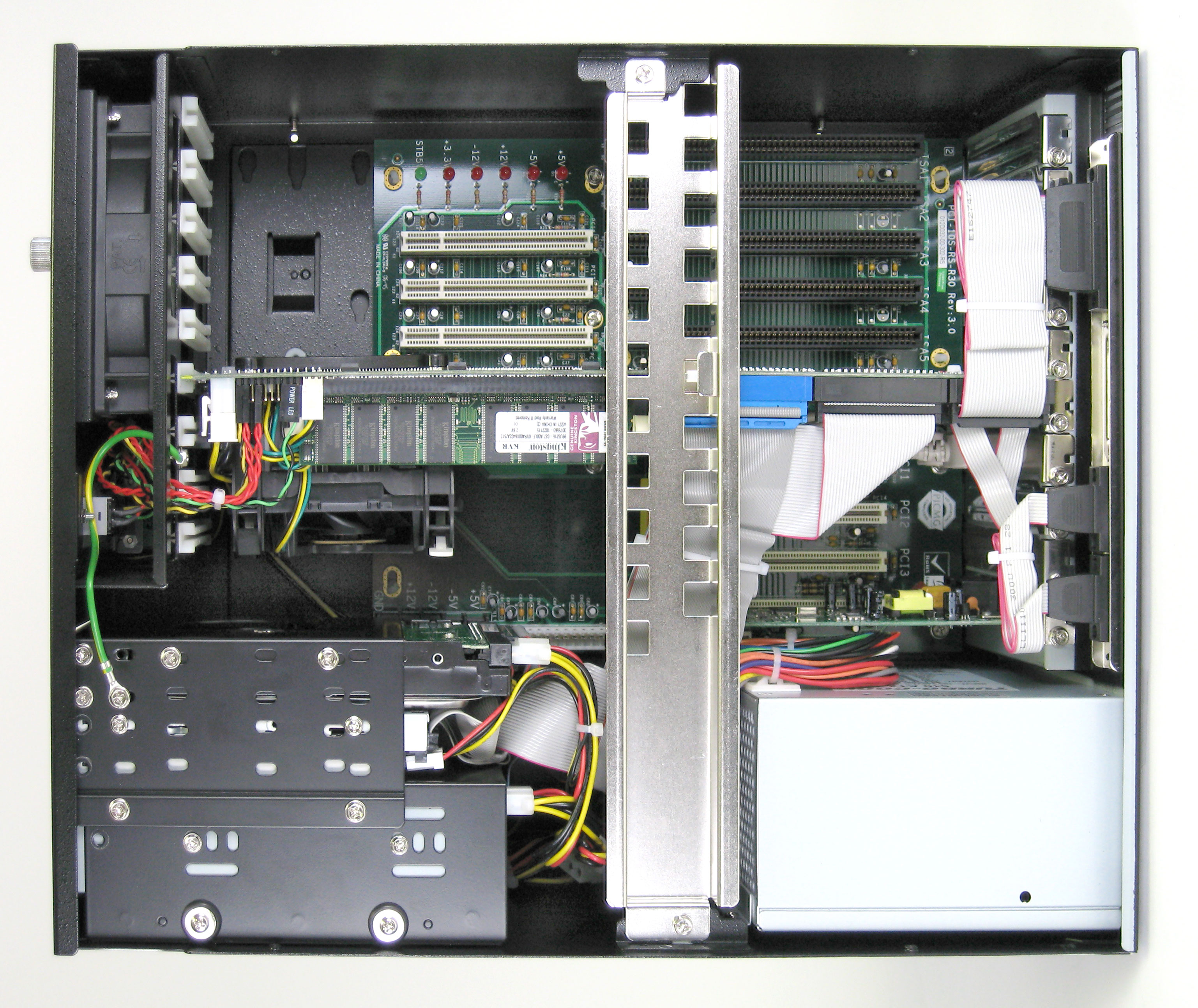 10-Slot Panel Mount Computer Internal