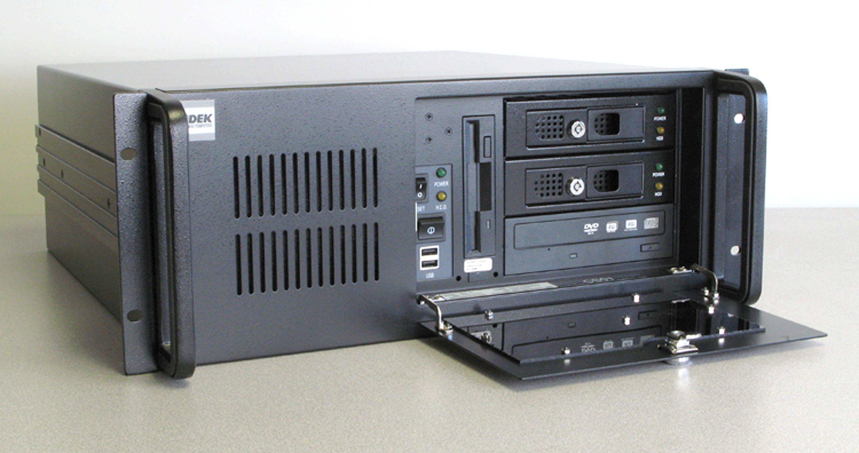 AD-586 4U Industrial Rack Mount Computer Front