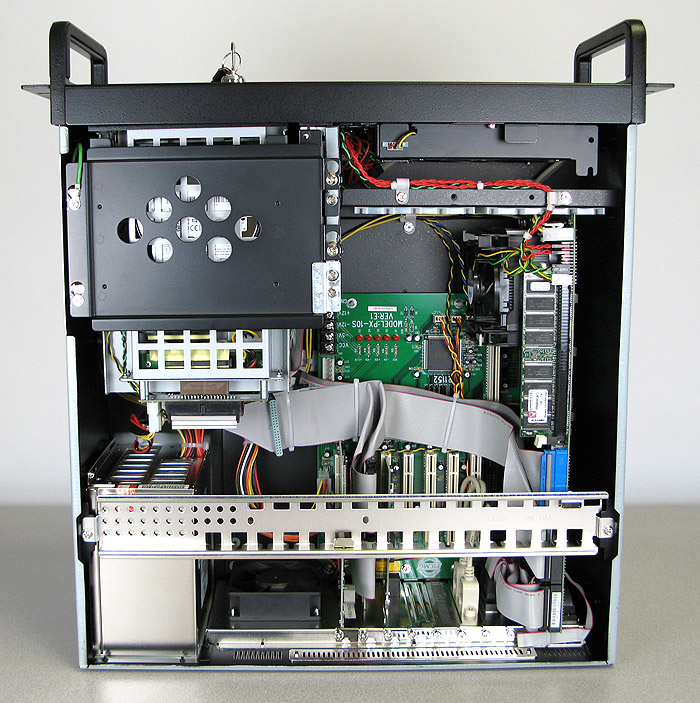AD-586 4U Industrial Rack Mount Computer Internal