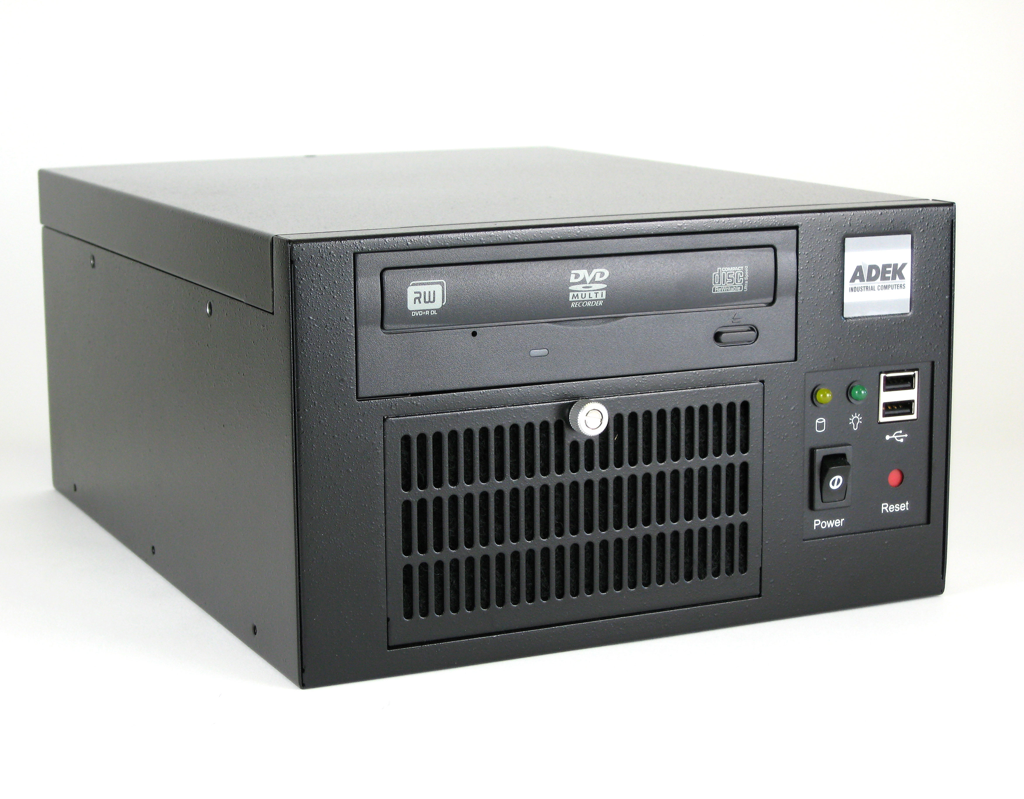 Mini-ITX Panel Mount Computer Front