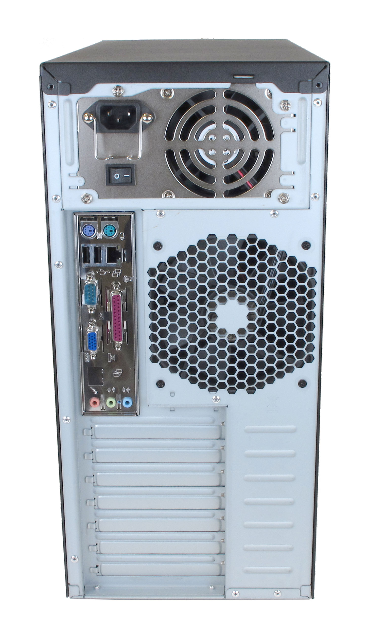 Mid-Tower Computer Rear