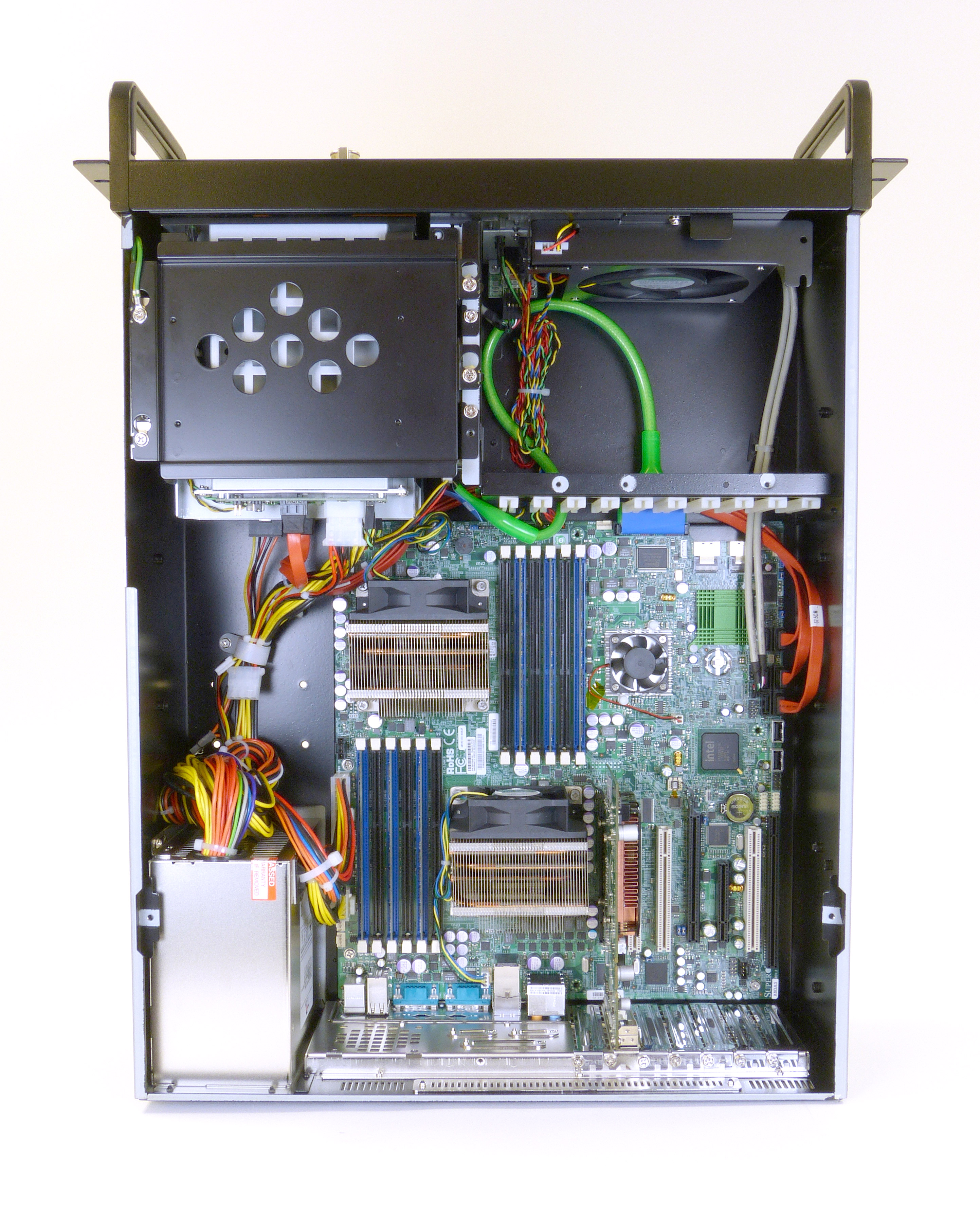 AD-586E 4U Rack Mount Server Internal