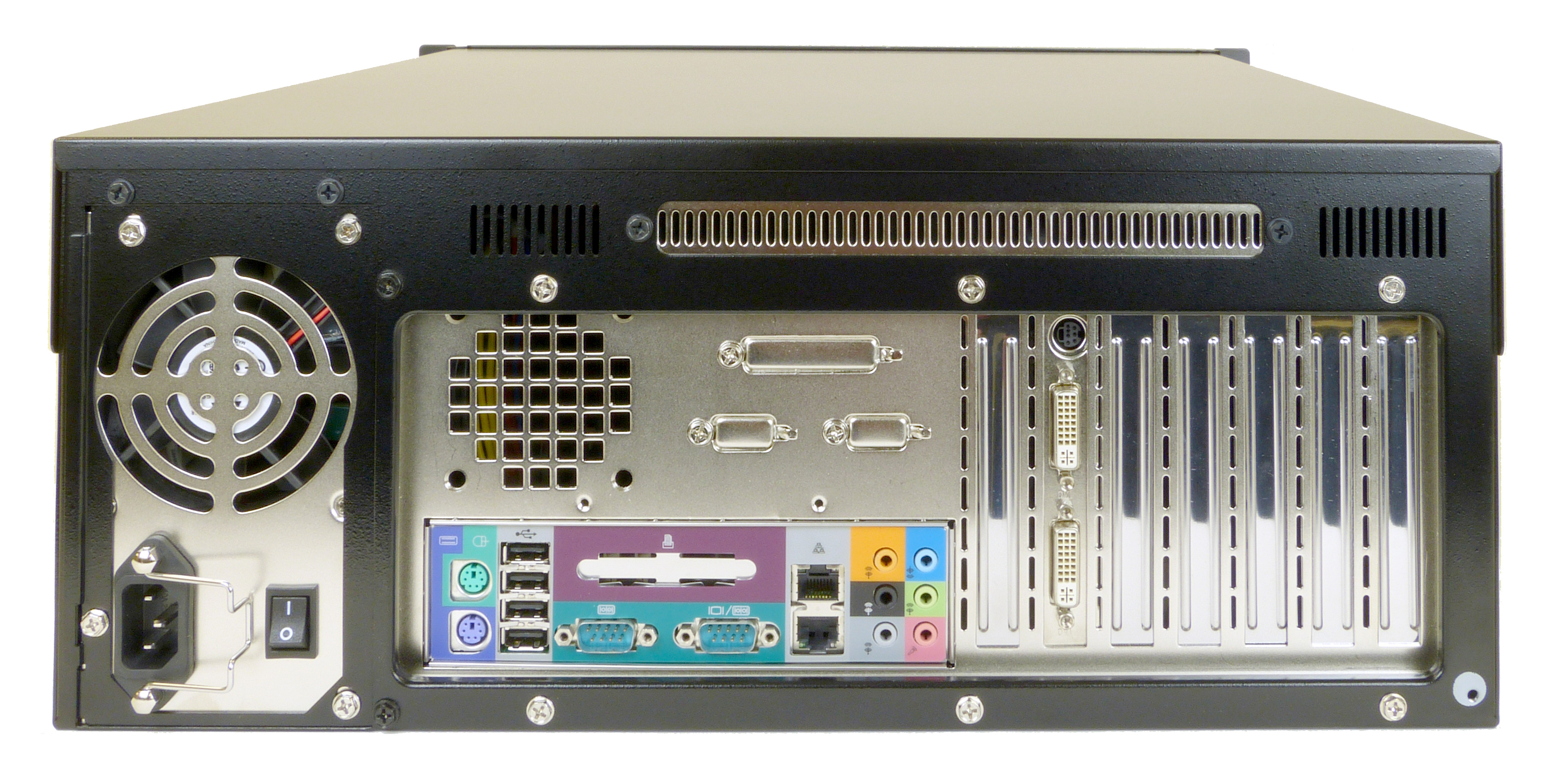 AD-586E 4U Rack Mount Server Rear